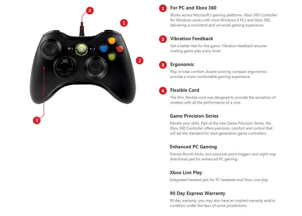 connect xbox 360 controller pc vista