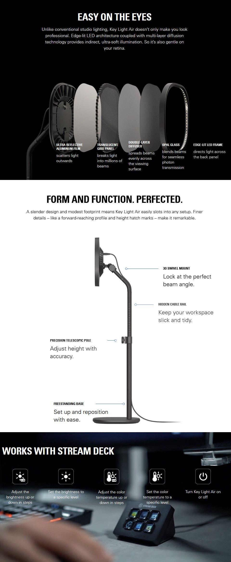 Elgato Key Light Air LED Panel features 2