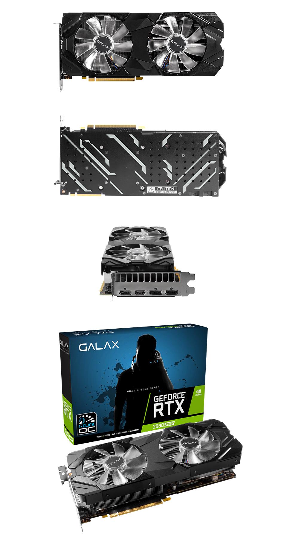 Galax GeForce RTX 2080 Super EX (1-Click OC) 8GB product