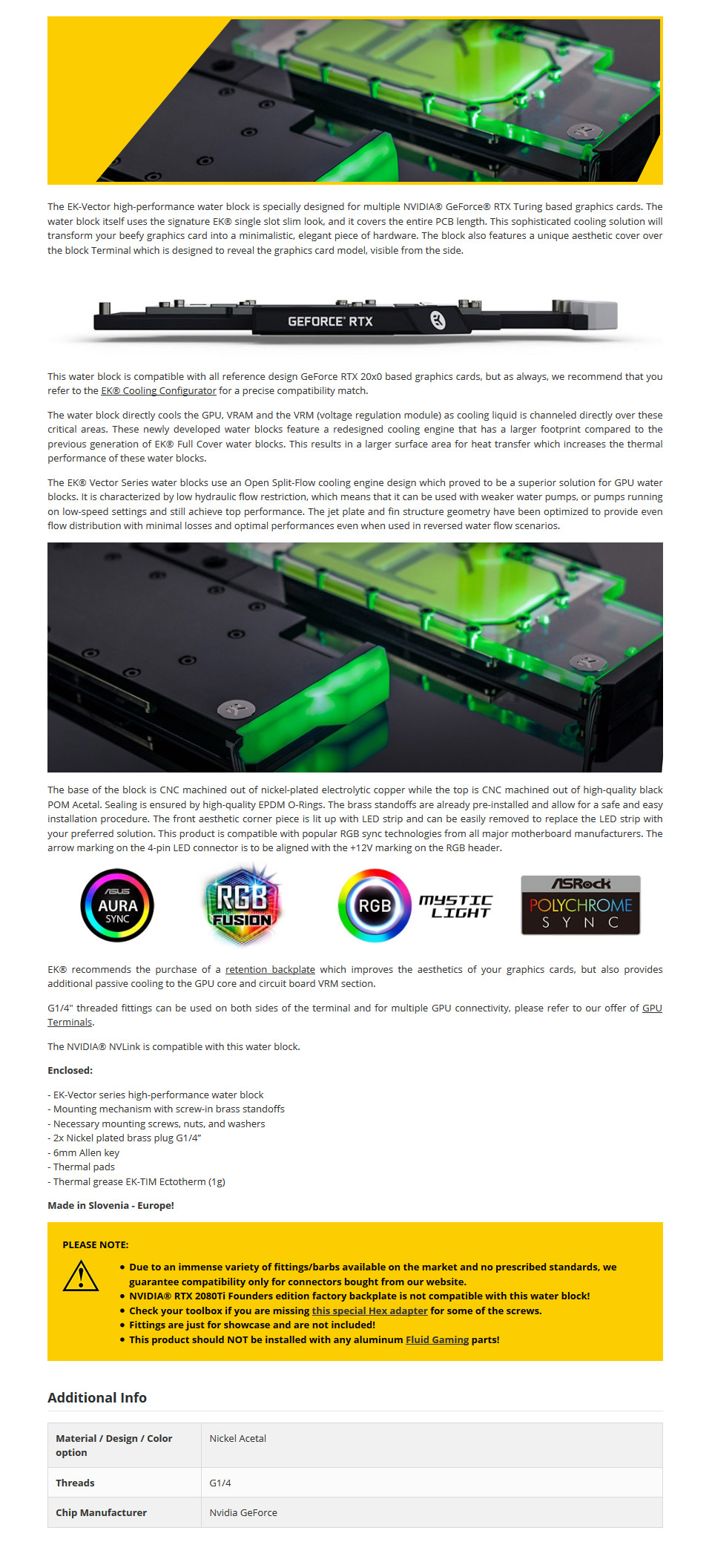 Ek Vector Rtx 2080 Ti Rgb Gpu Waterblock Nickel Acetal Circuit Board Picture Frames Pcb Printed Boards Pinterest The Entire Length This Sophisticated Cooling Solution Will Transform Your Beefy Graphics Card Into A Minimalistic Elegant Piece Of Hardware
