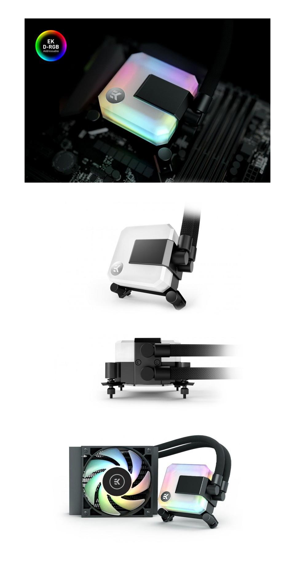 EK Waterblocks AIO Liquid CPU Cooler 120mm D-RGB product
