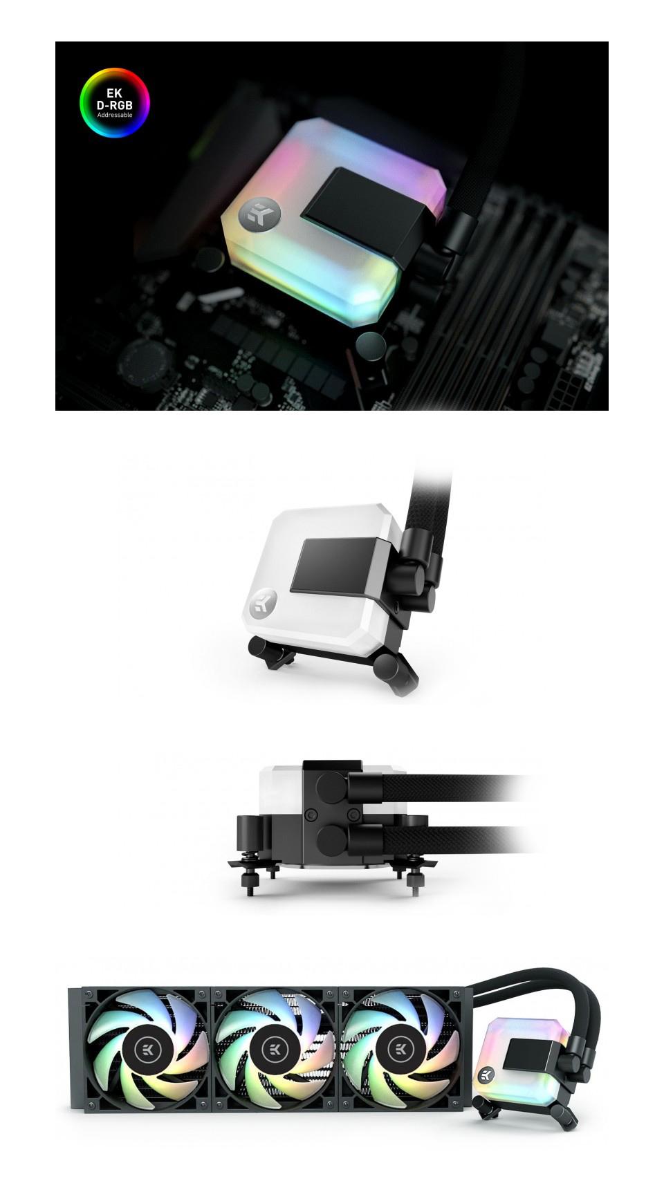 EK Waterblocks AIO Liquid CPU Cooler 360mm D-RGB product