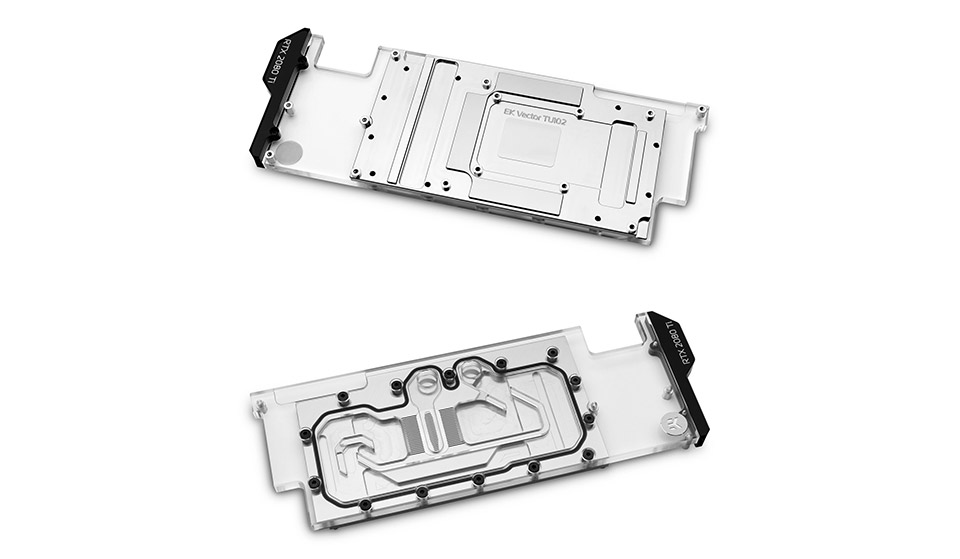 EK Quantum Vector Water Block Direct RTX Ti D-RGB Nickel Plexi product