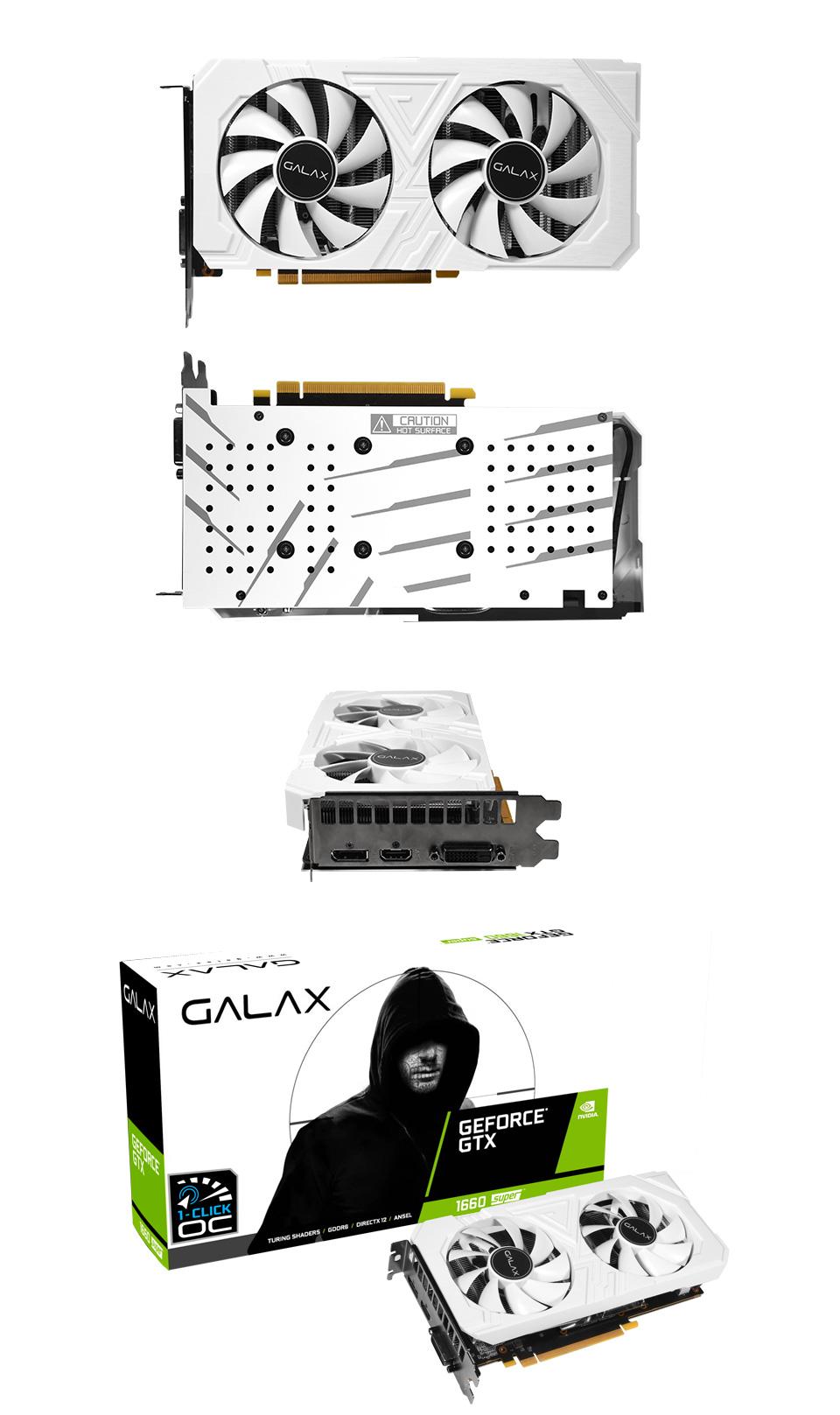 Galax GeForce GTX 1660 Super EX OC 6GB White product