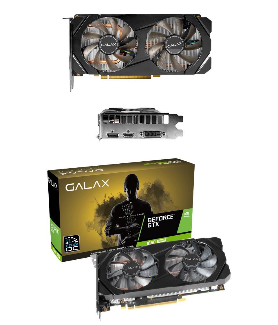 Galax GeForce GTX 1660 Super OC 6GB product