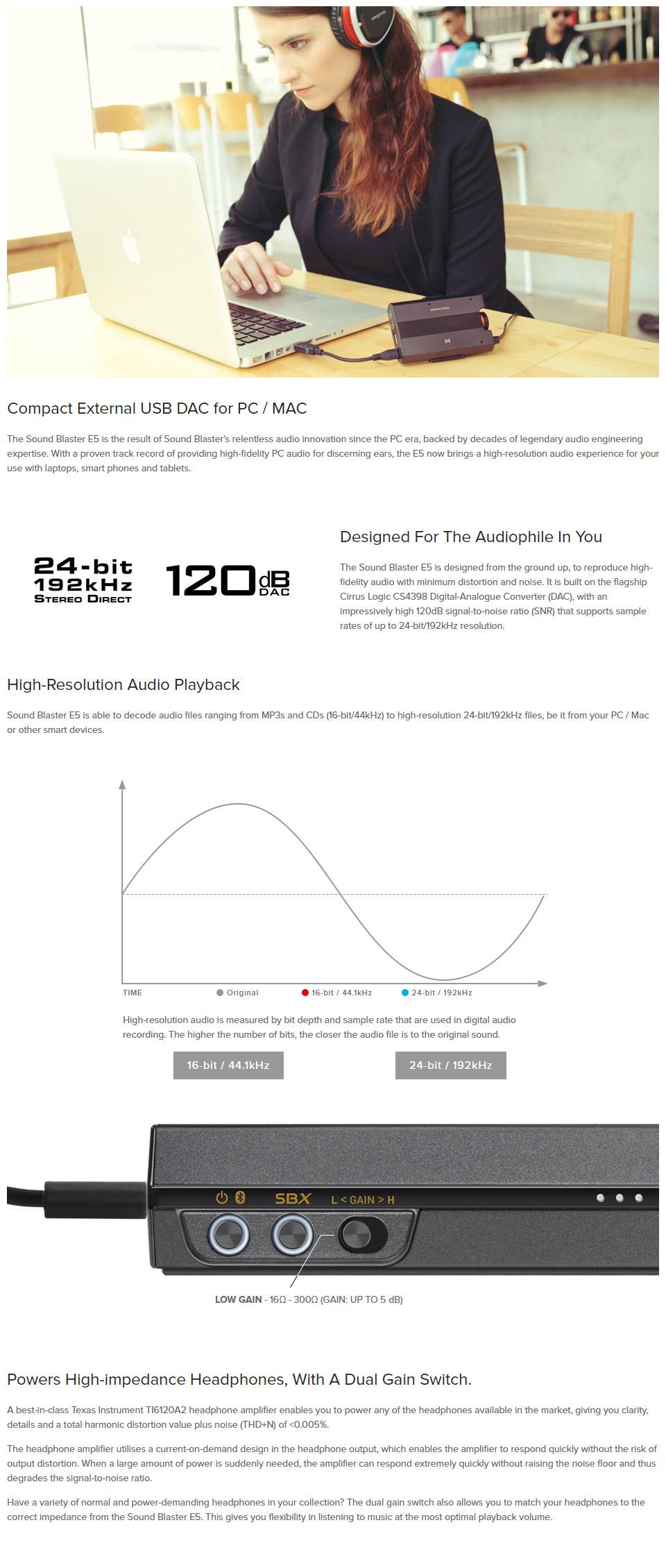 Sound Blaster Amplifier