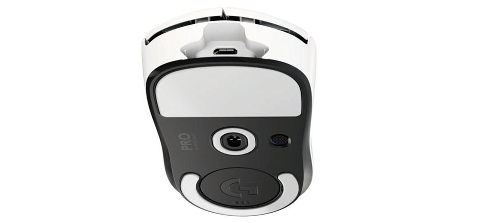 עכבר גיימינג אלחוטי Logitech Pro X Superlight White
