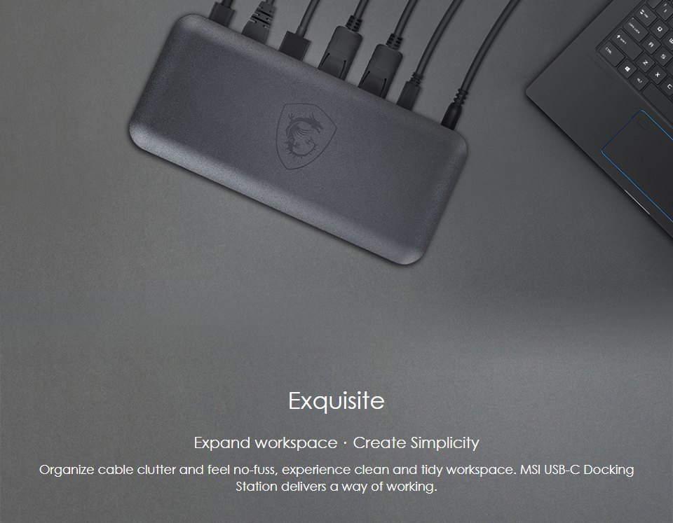 MSI USB-C Docking Station features 2