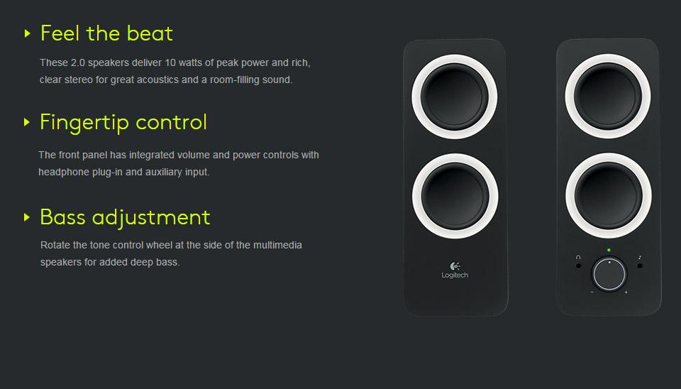 logitech multimedia speakers z200 manual