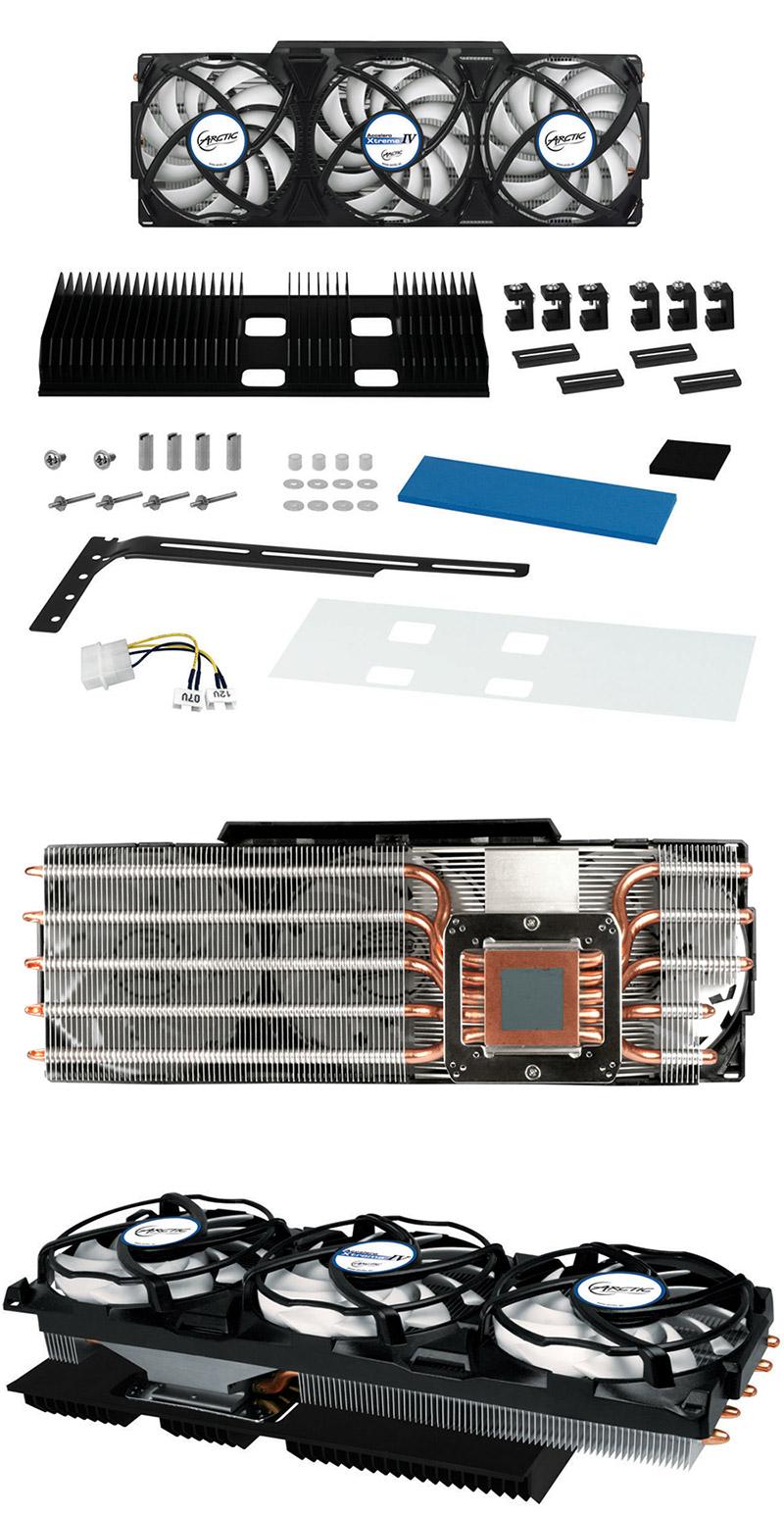 Arctic Cooling Accelero Xtreme IV VGA Cooler [AC-XTRMIV