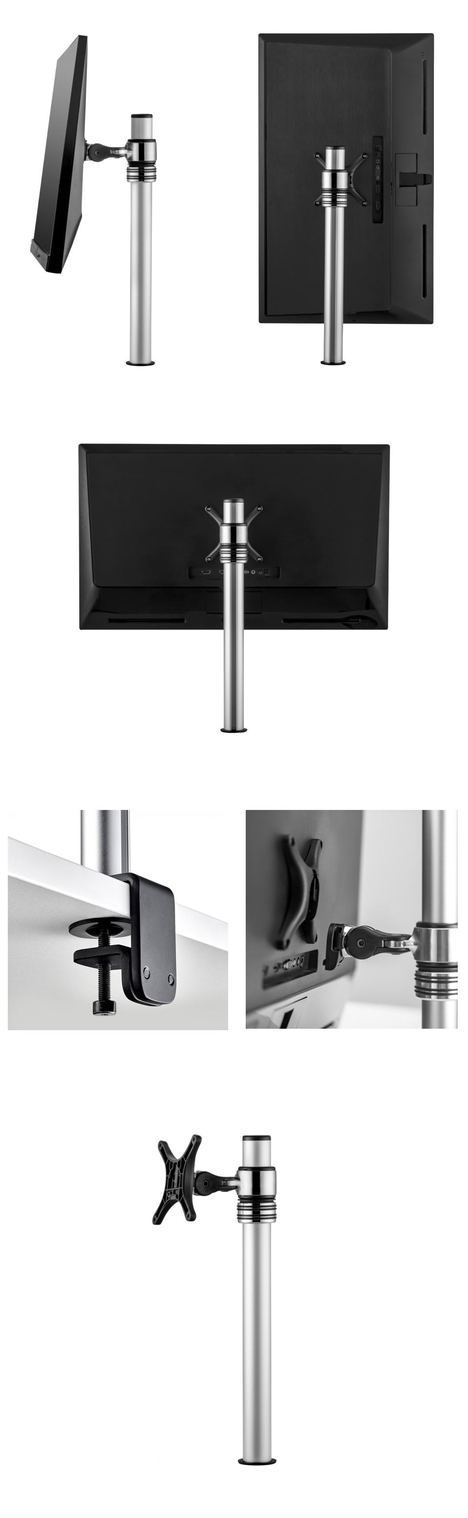 Atdec AF-M-P 440mm Micro Desktop Monitor Mount Silver product