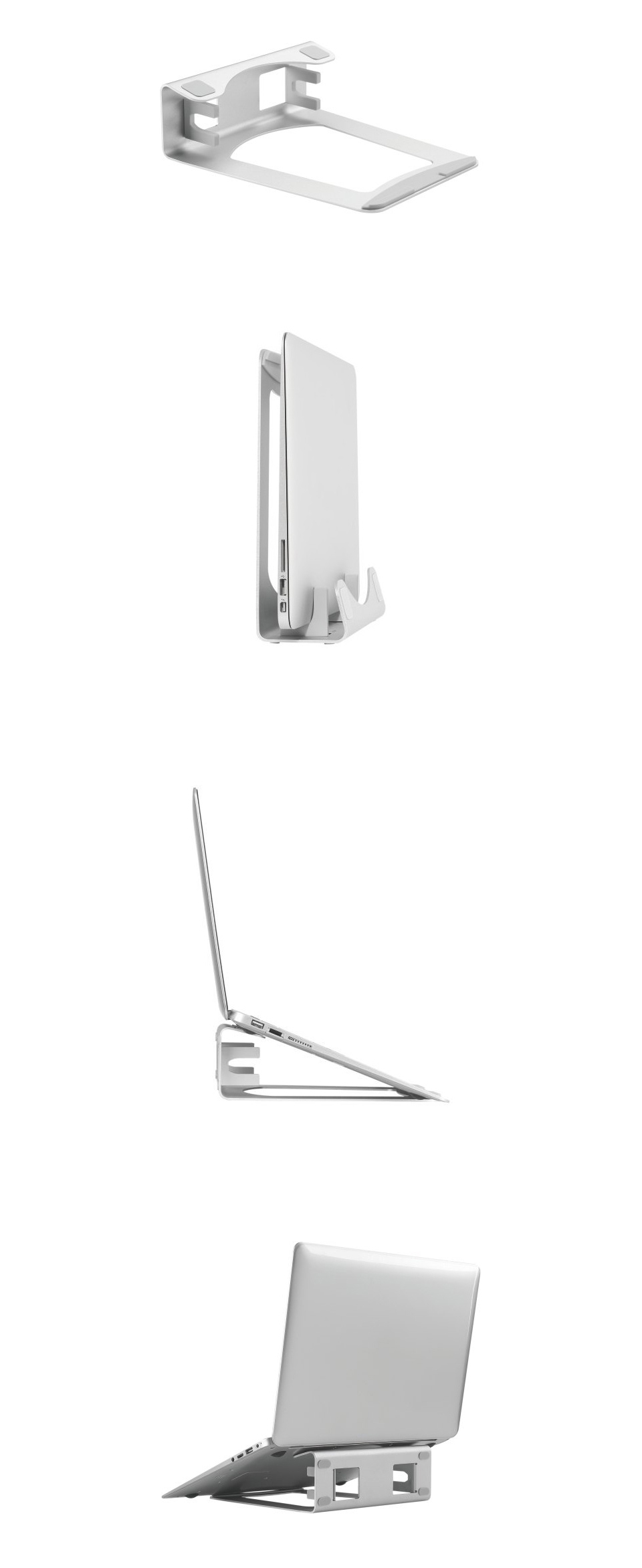 Brateck AR-6 2 IN 1 Adjustable Aluminum Laptop Stand product