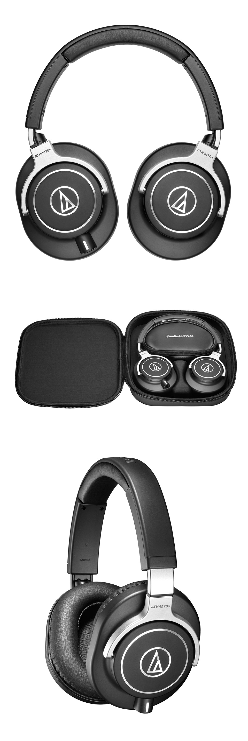 audio technica ath m70x professional monitor headphones ath m70x pc case gear. Black Bedroom Furniture Sets. Home Design Ideas