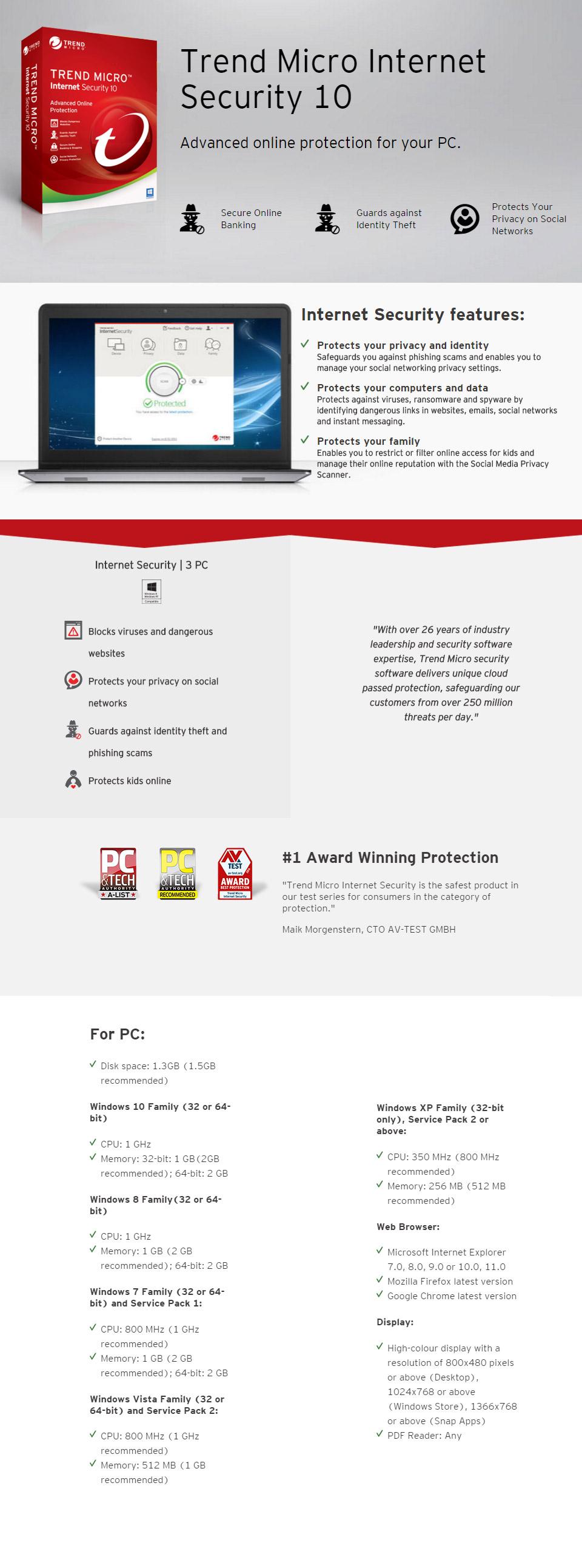 Trend Micro Maximum Security 2016 serials & keys