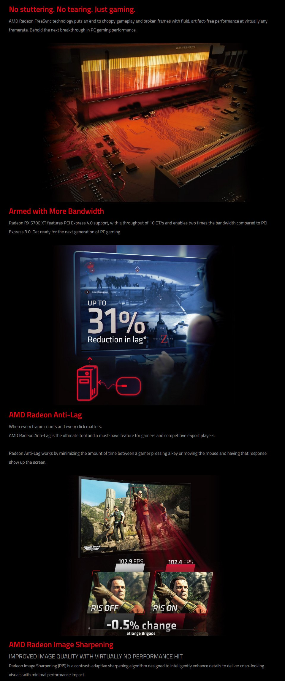 PowerColor Radeon RX 5700 XT 8GB features 3