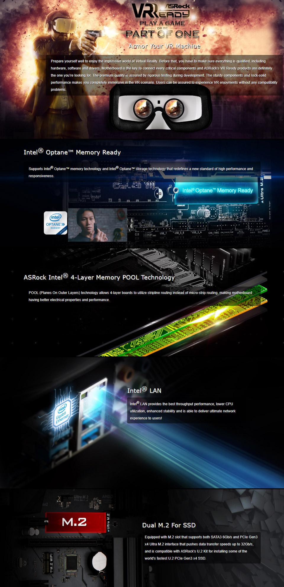 ASRock B360 Pro4 Motherboard [B360-PRO4] : PC Case Gear