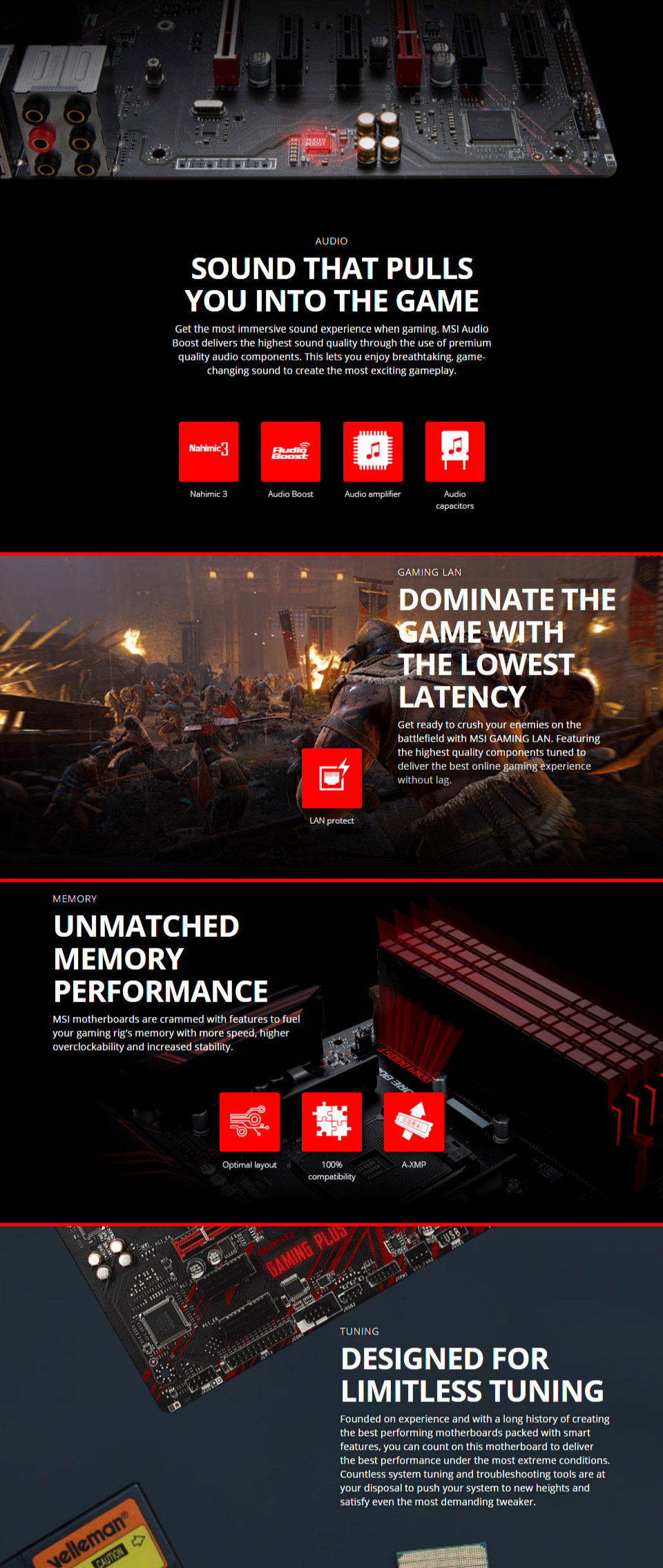 MSI B450 Gaming Plus Motherboard