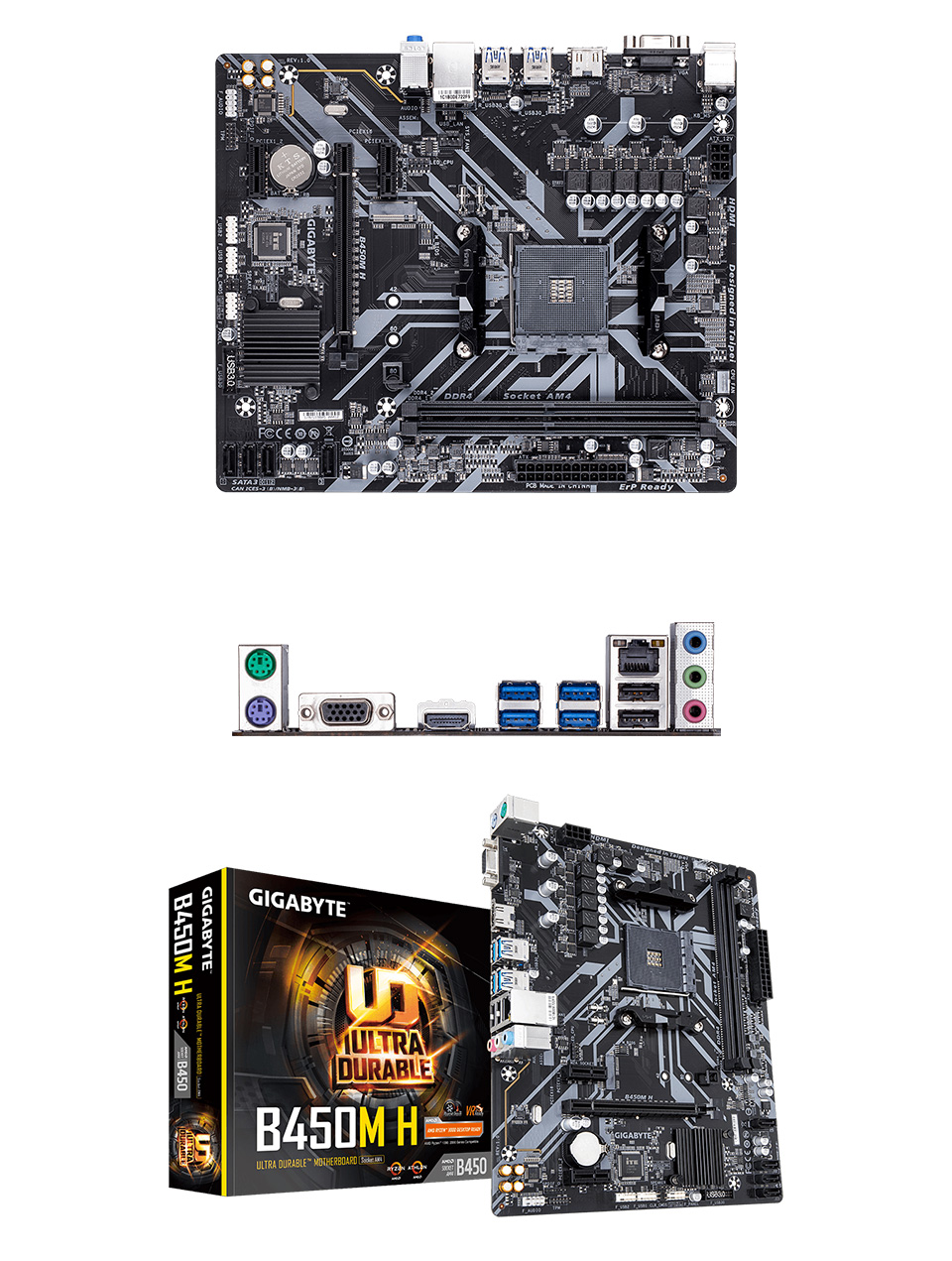 Gigabyte B450M-H Motherboard product