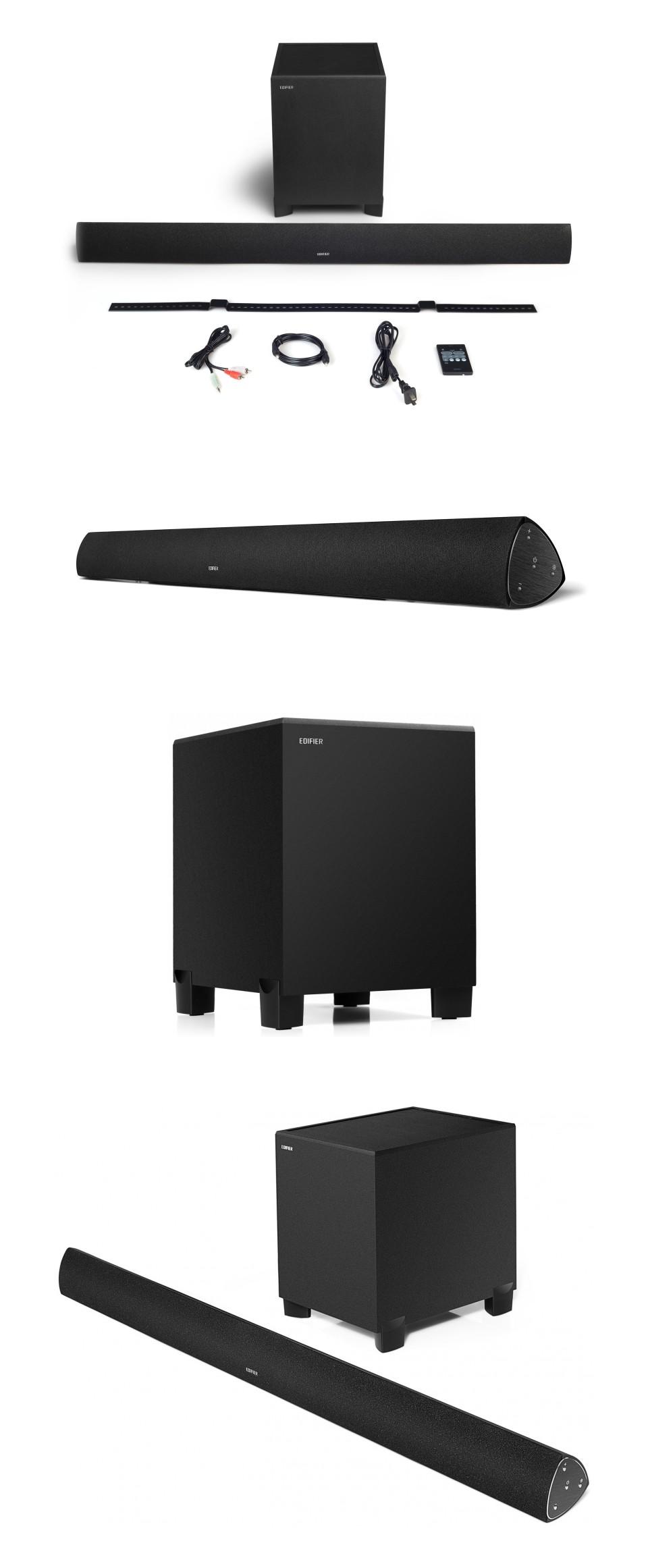 Edifier B7 CineSound Soundbar Speaker System Black product