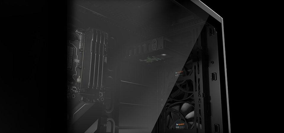מארז מחשב שחור be quiet! Silent Base 802