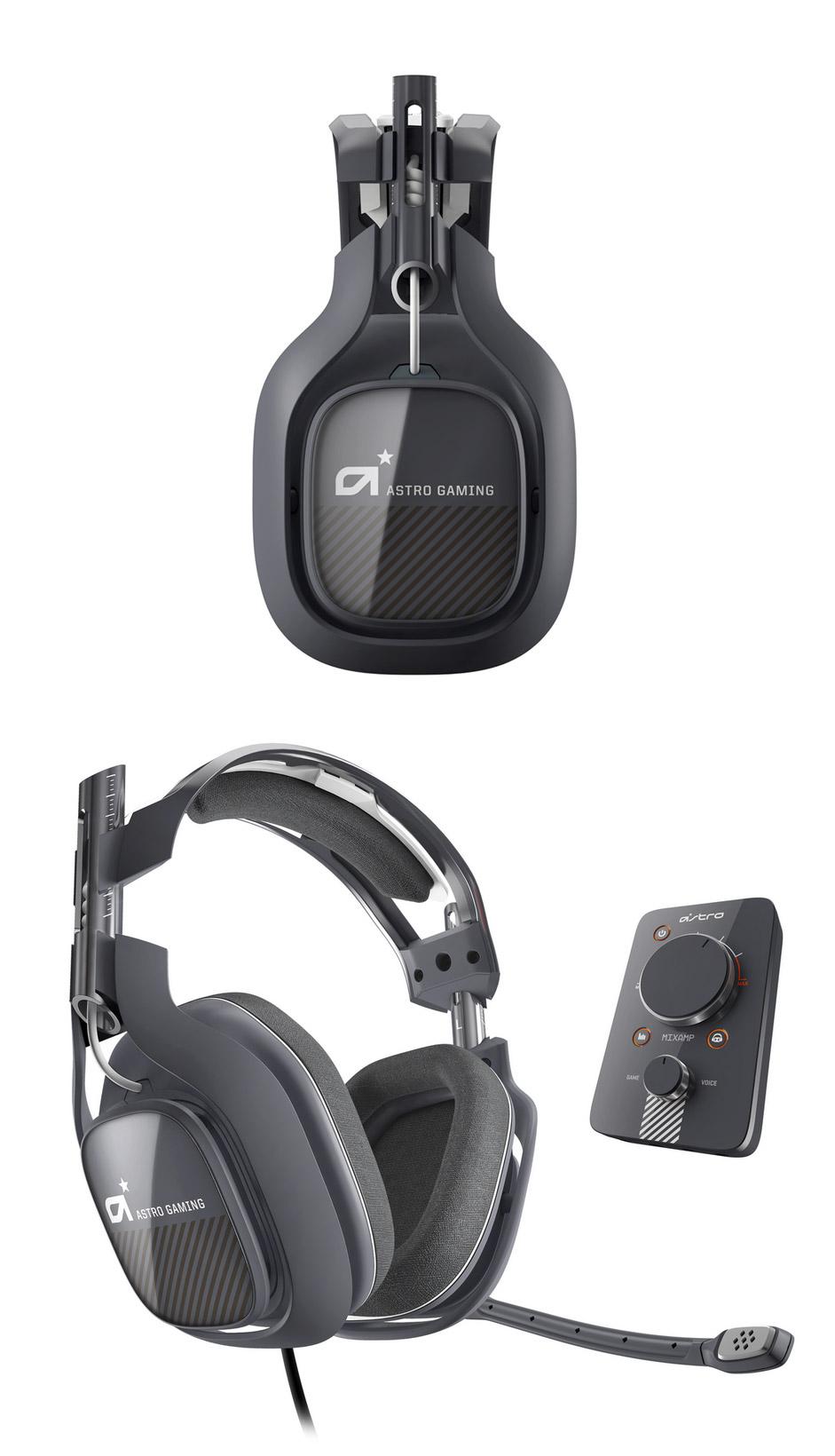 Astro A40 Gen2 Gaming Headset Dark Grey + MixAmp Pro ...
