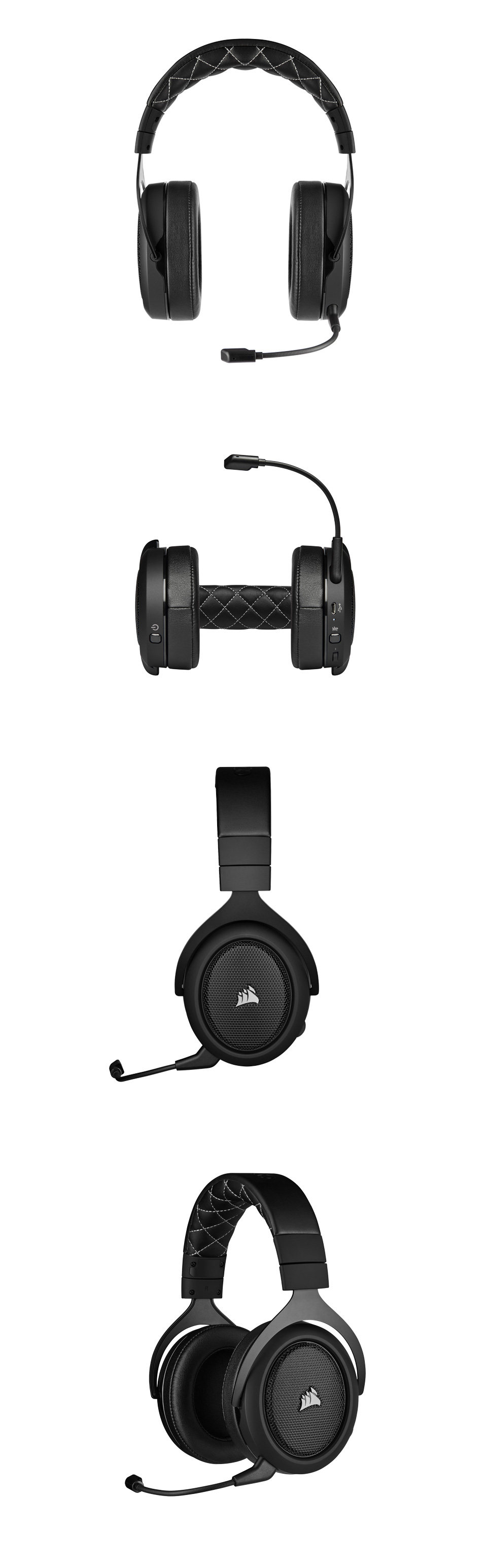 Corsair HS70 PRO Wireless Gaming Headset Carbon product