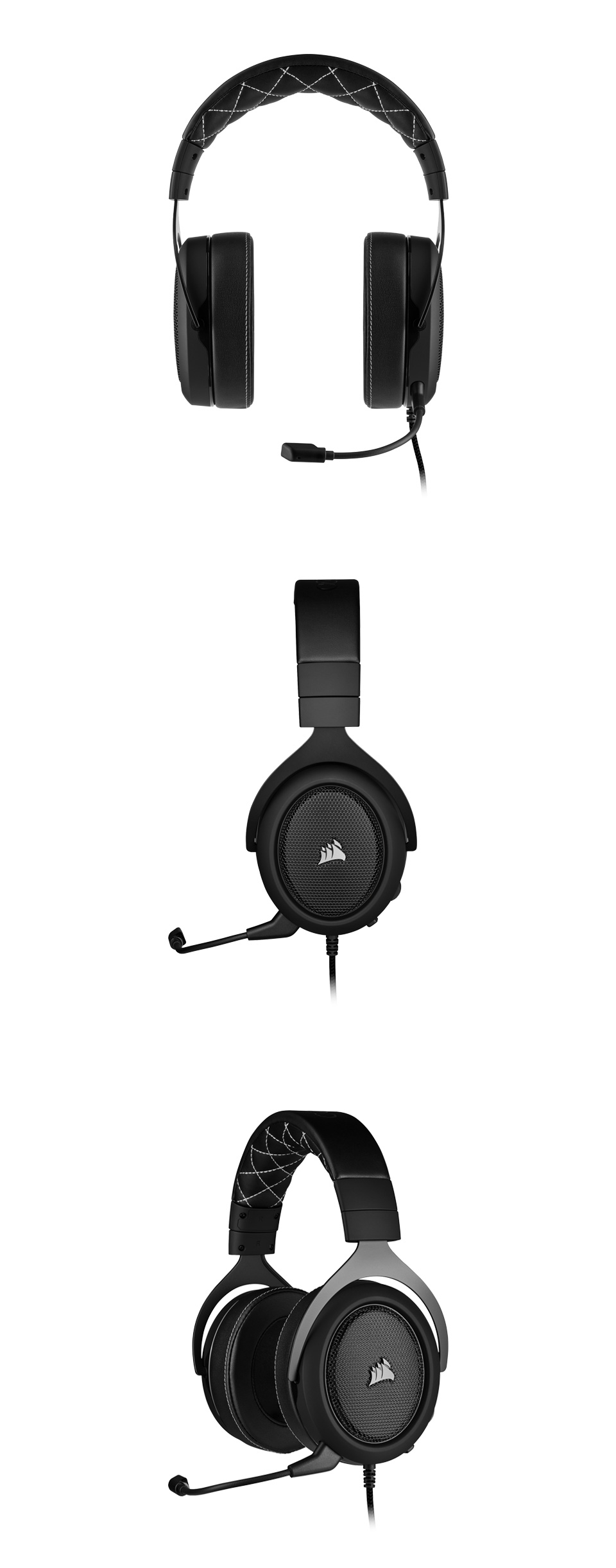 Corsair HS60 PRO Surround Gaming Headset Carbon product