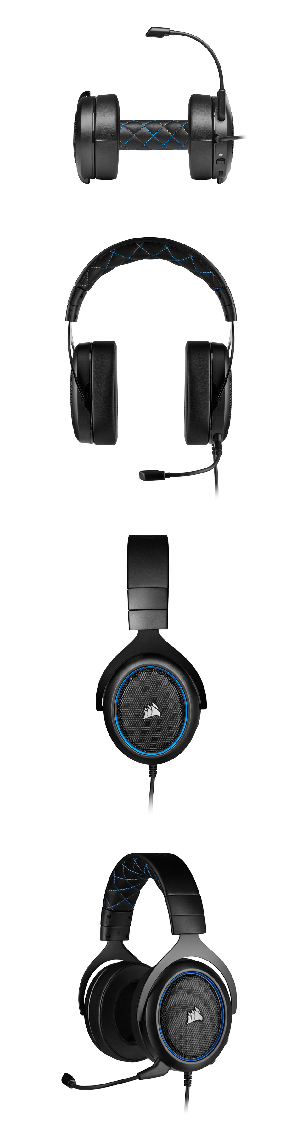 Corsair HS50 PRO Stereo Gaming Headset Blue product