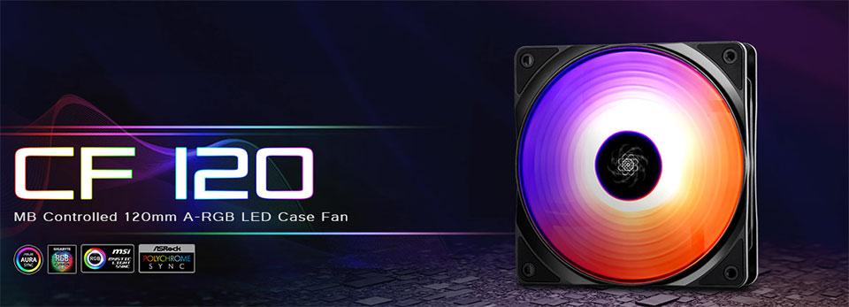 Deepcool CF-120 Addressable RGB Fan