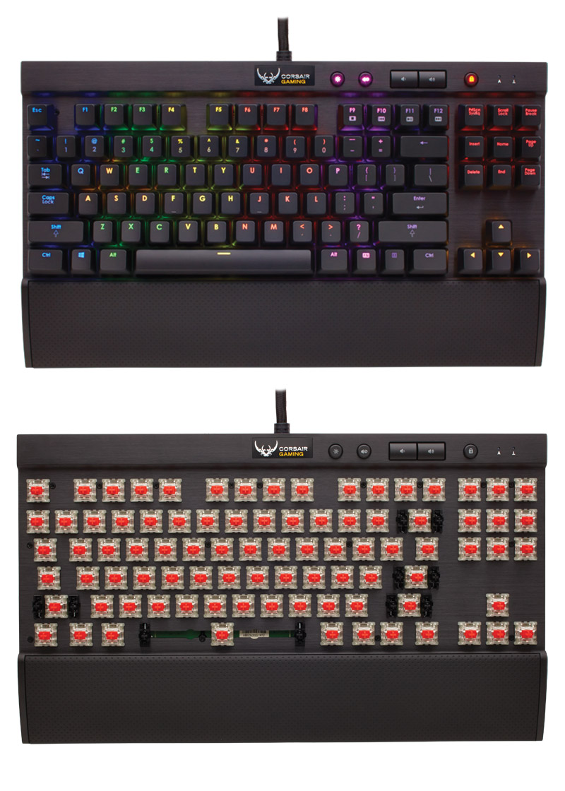 Harga Dan Spesifikasi Corsair K70 Lux Rgb With Cherry Mx Silent Brown Switch Mechanical Keyboard Hitam Gaming K65 Red Ch Switches Vs