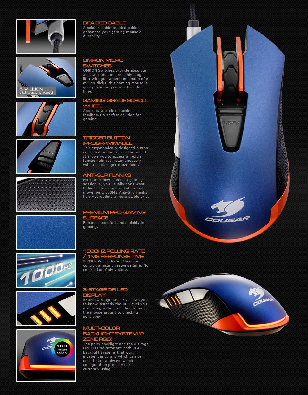 disabling leds gaming mice