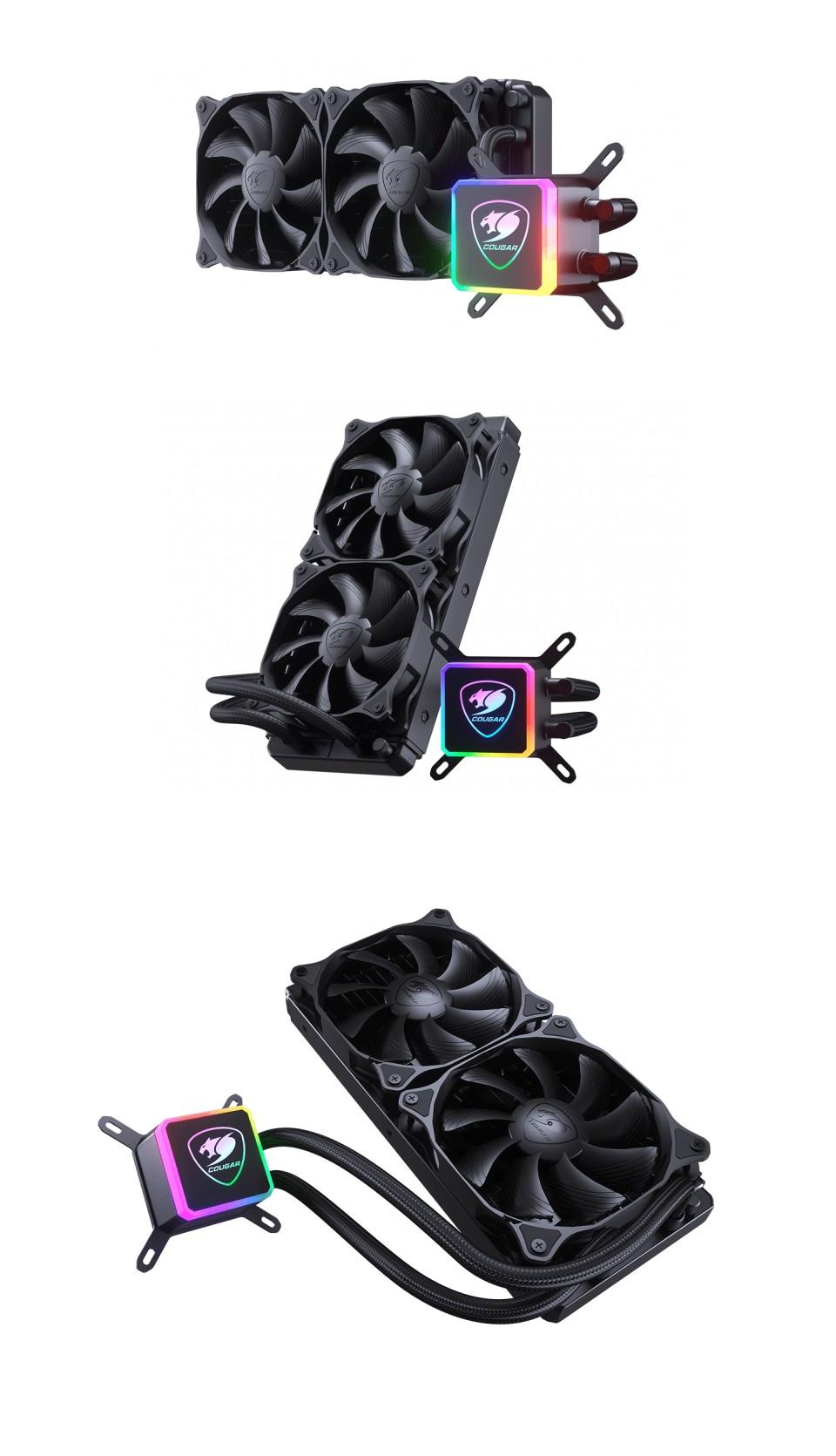 Cougar Aqua 240 ARGB AIO Liquid CPU Cooler product