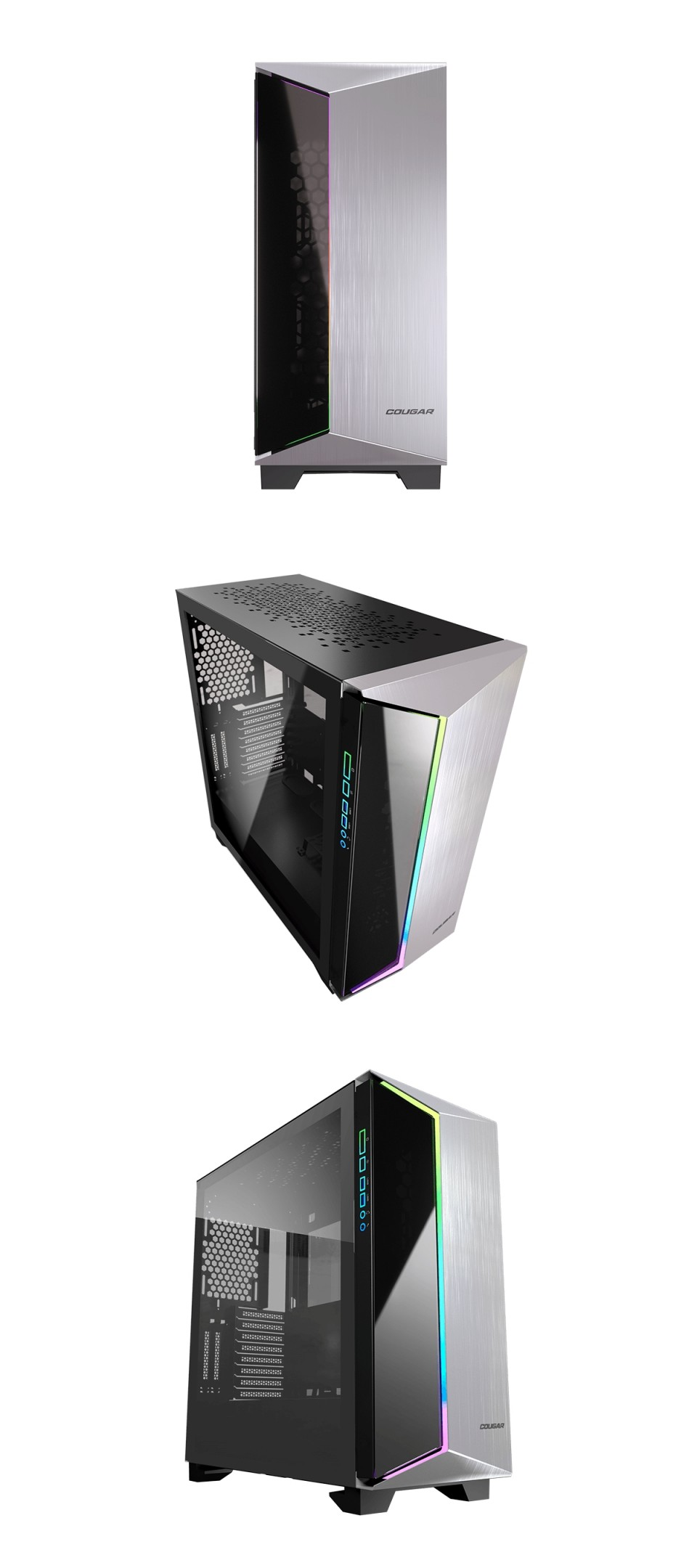 Cougar DarkBlader G RGB TG Full Tower Case Black product