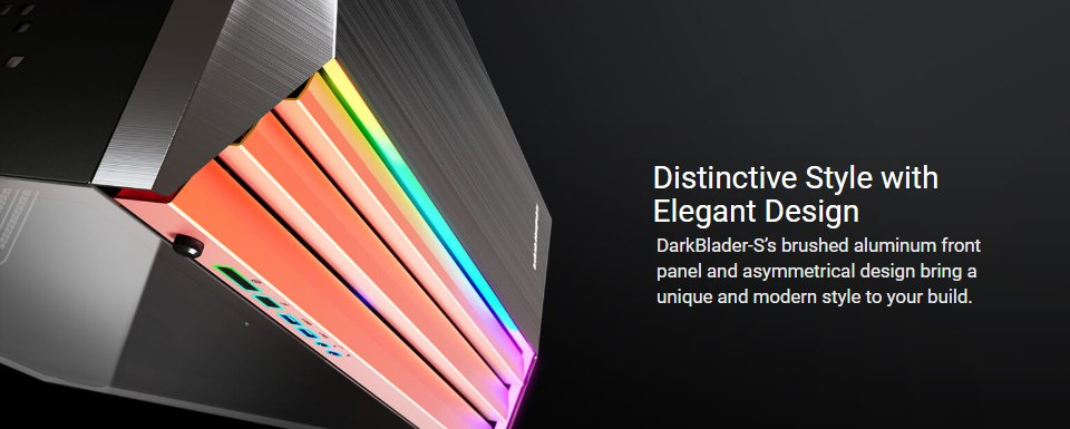 Cougar DarkBlader S RGB TG Full Tower Case Black features