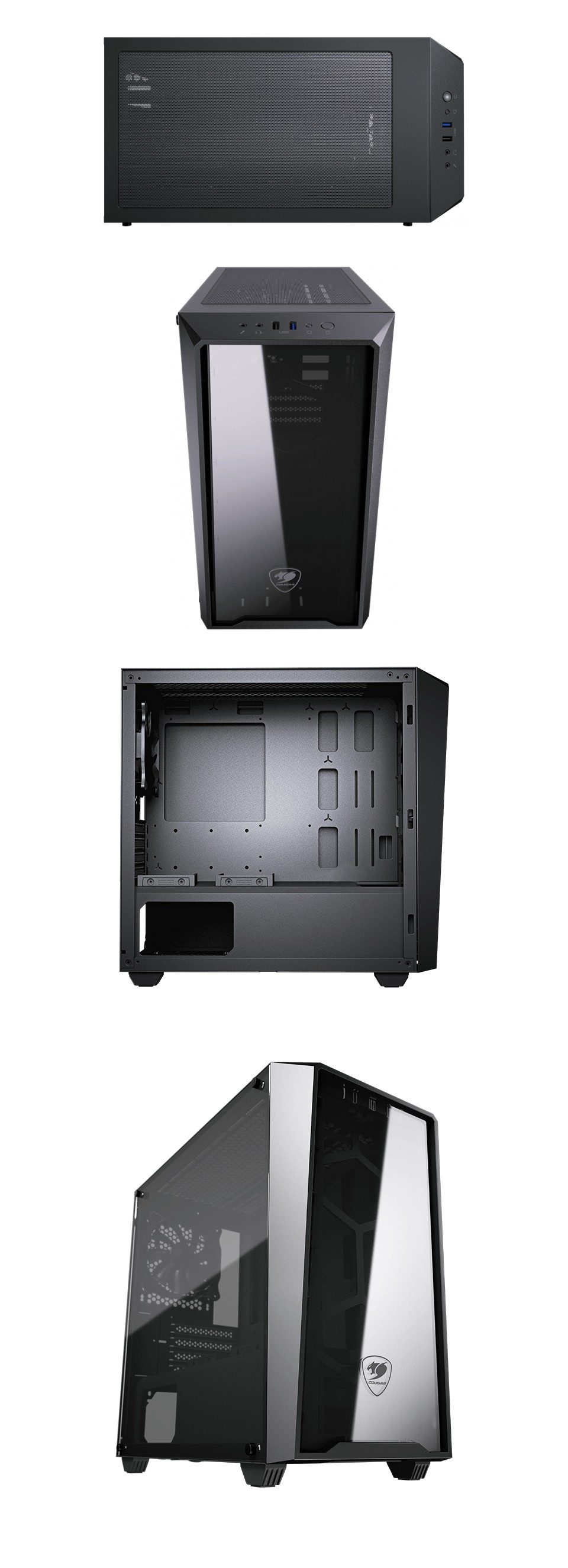 Cougar MG120 Mini Tower Case product