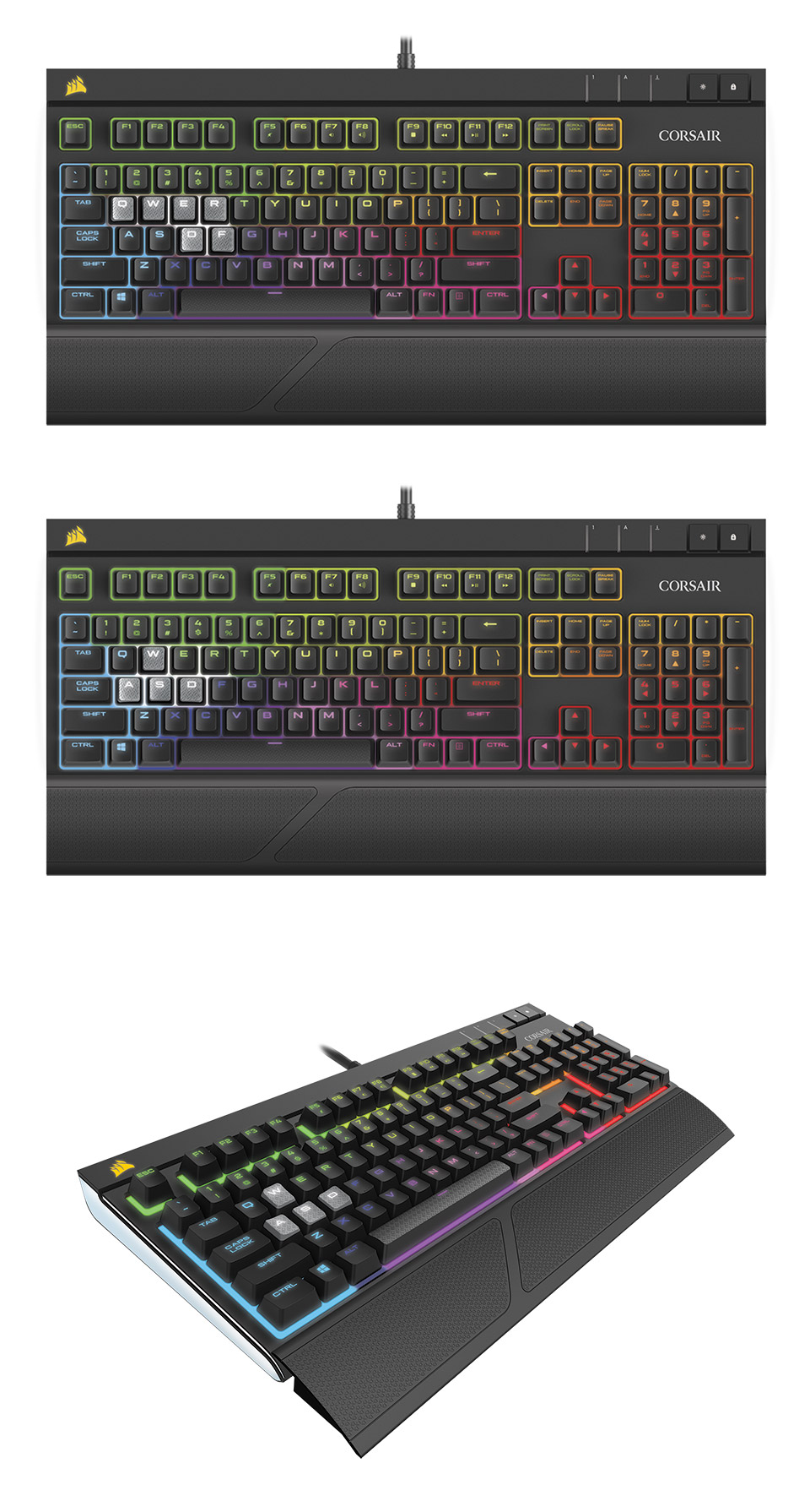Corsair Gaming Strafe Rgb Mechanical Keyboard Cherry Mx