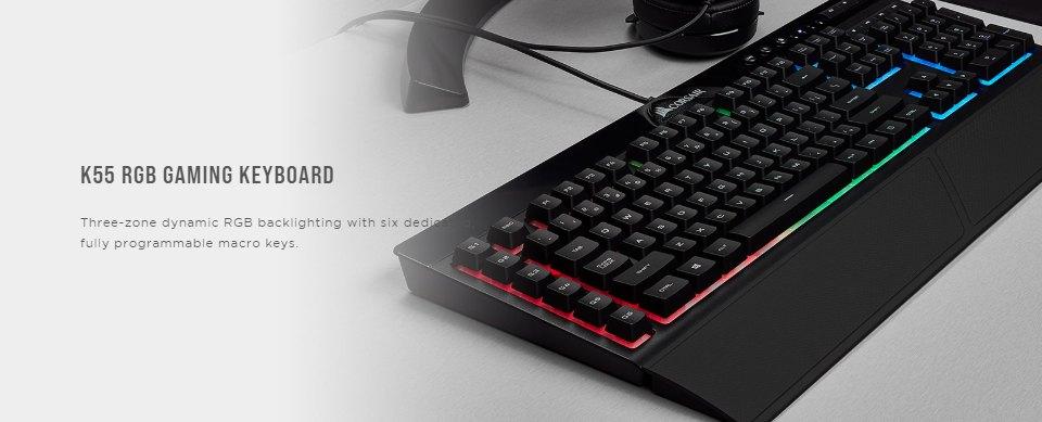 Corsair 4 in 1 Essential Gaming Bundle features
