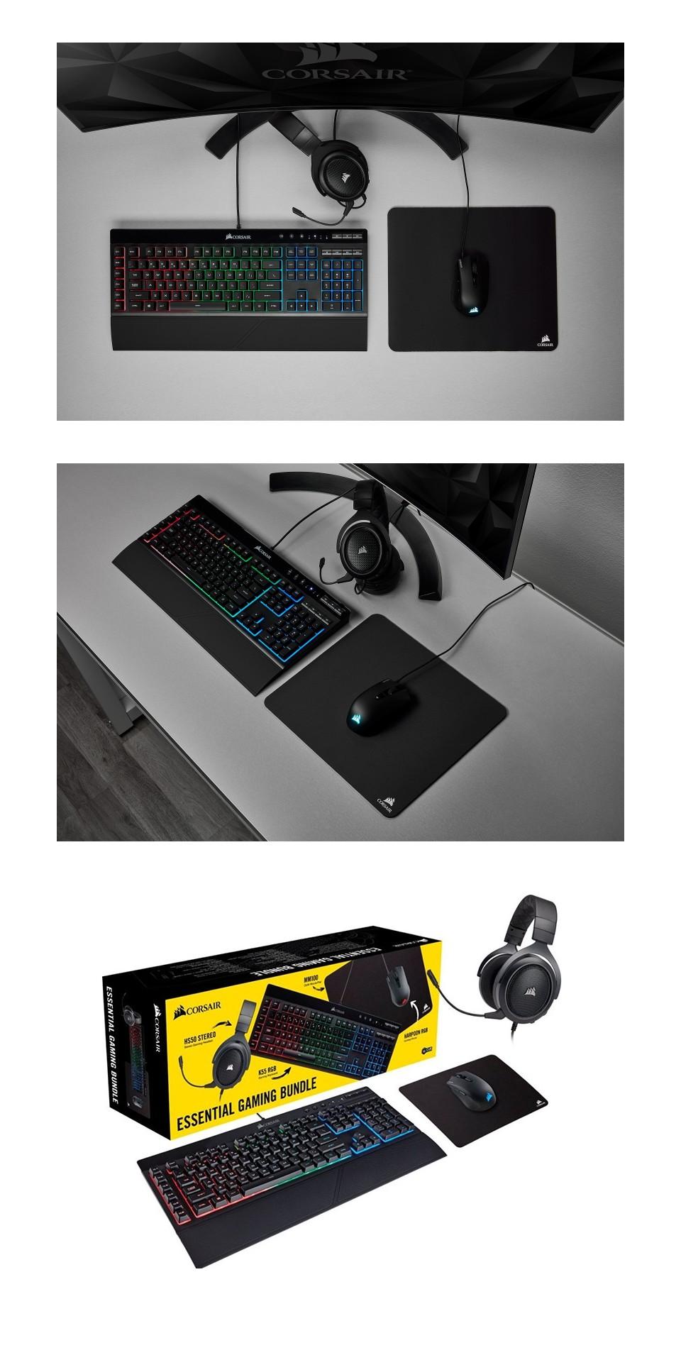 Corsair 4 in 1 Essential Gaming Bundle product