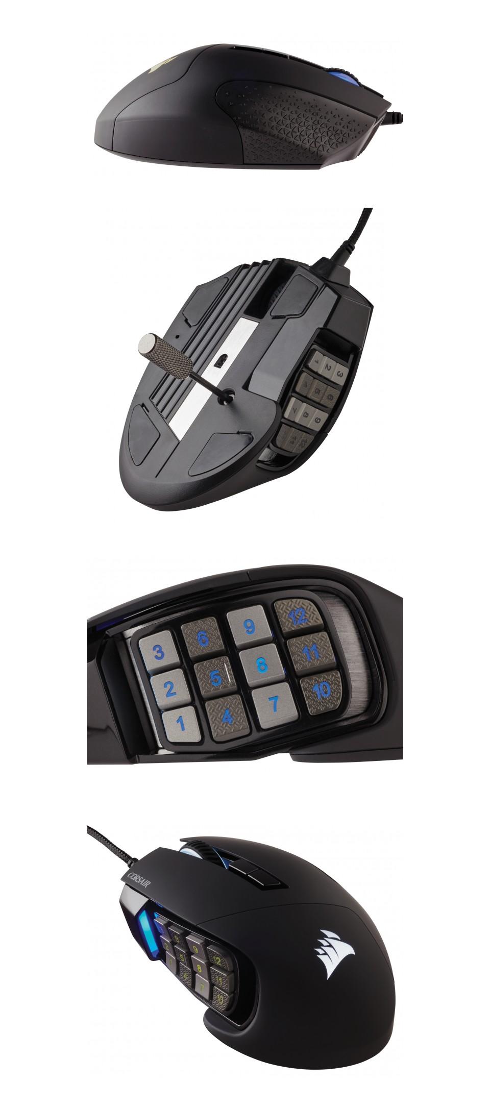 Corsair Scimitar Elite RGB Optical Gaming Mouse product