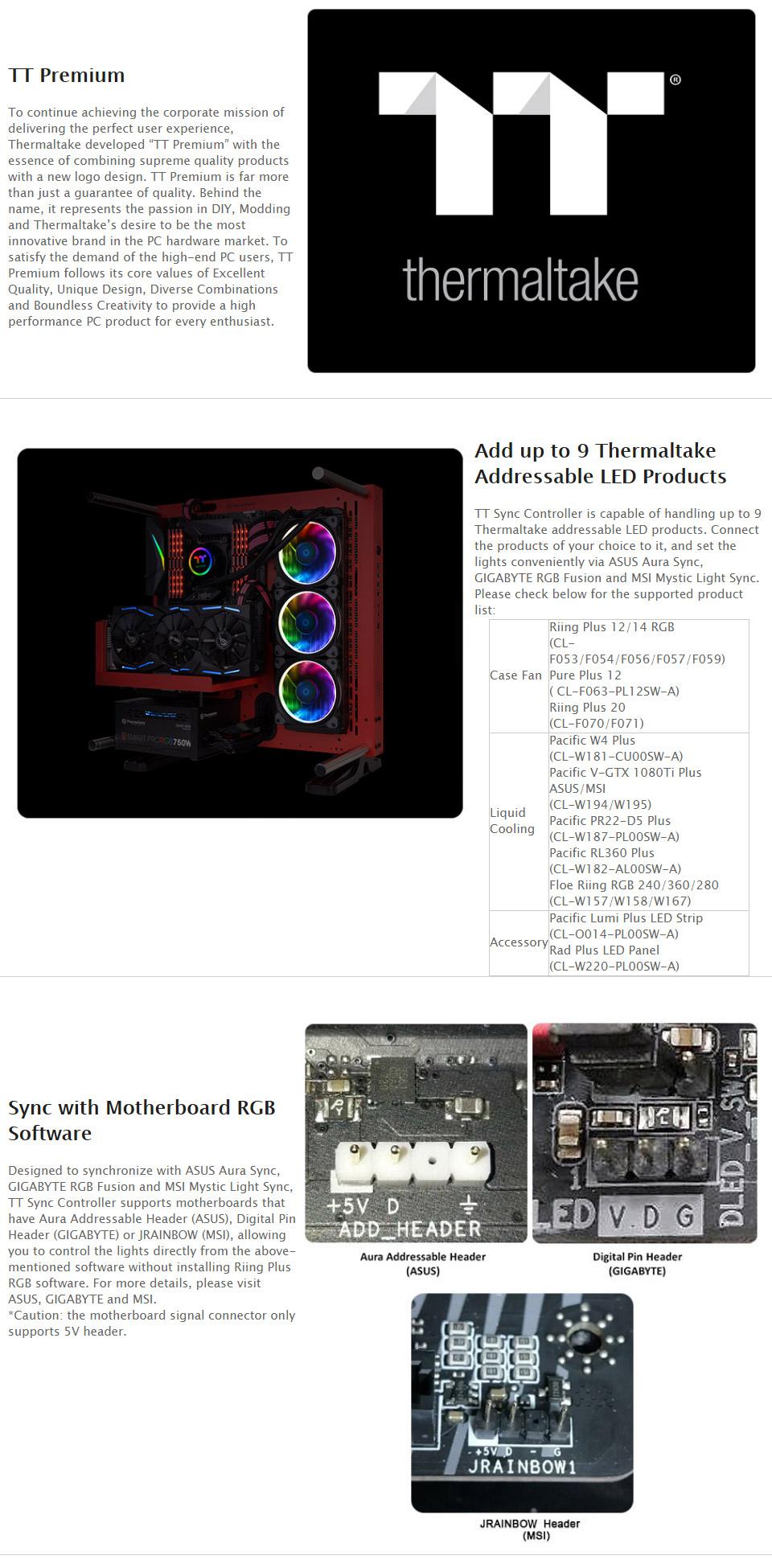 Thermaltake TT Sync Controller Premium Edition