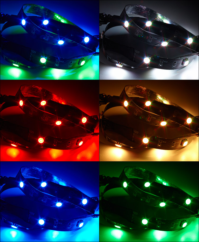 Corsair Link RGB LED Lighting Kit CL 8930001 PC Case Gear