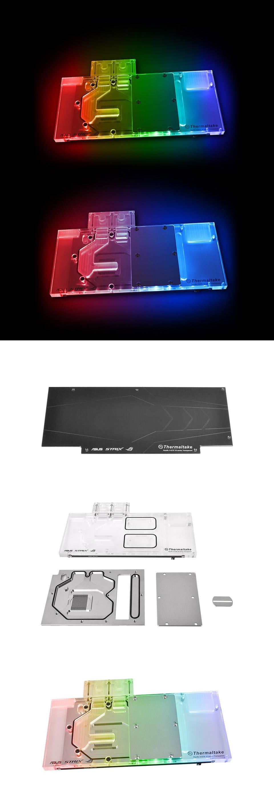 Thermaltake Pacific V-GTX 1080Ti Plus Transparent with RGB