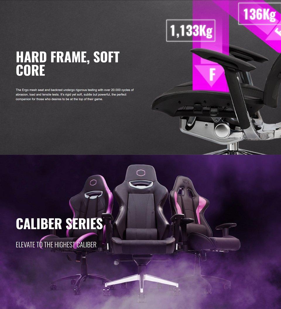 Cooler Master Ergo L Ergonomic Ultra Large Adjustable Chair features 2