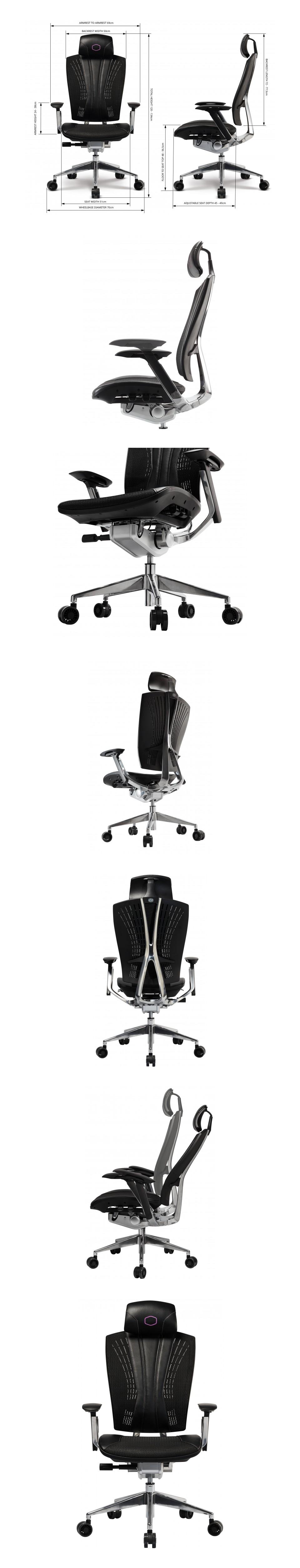 Cooler Master Ergo L Ergonomic Ultra Large Adjustable Chair product
