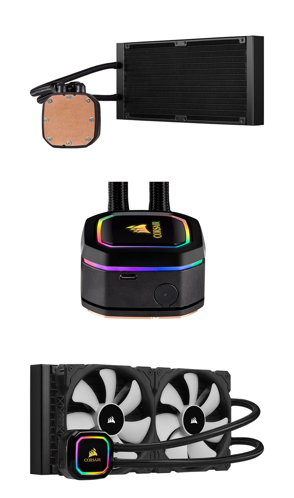 Corsair iCUE H115i RGB Pro XT 280mm AIO CPU Cooler product