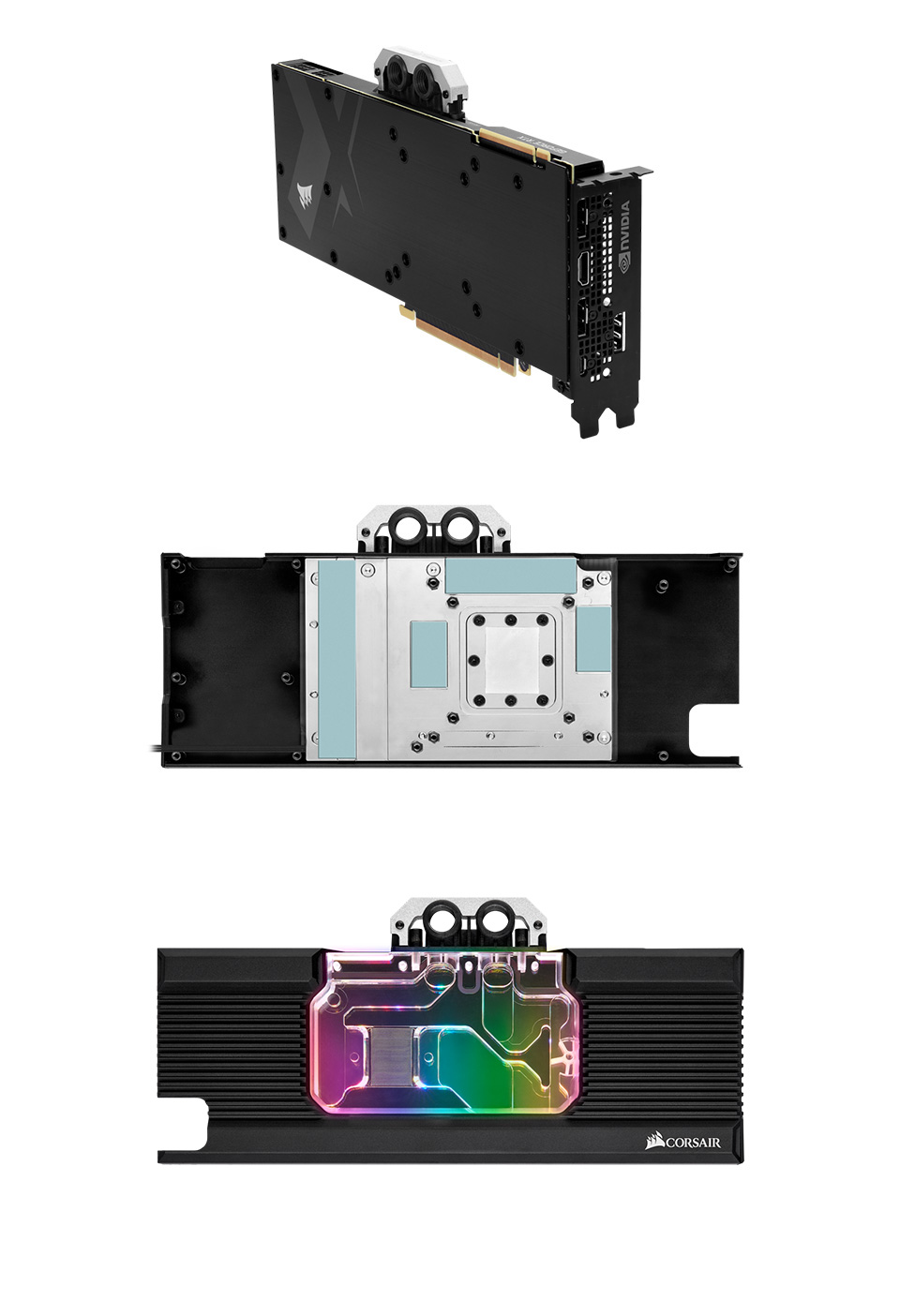 Corsair Hydro X Series XG7 2080 FE RGB GPU Water Block product