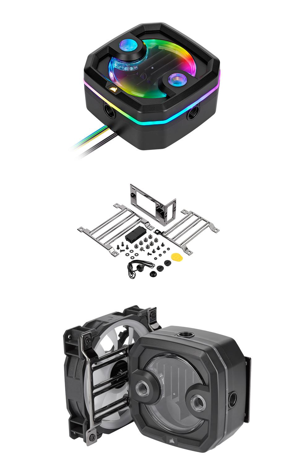 Corsair Hydro X Series XD3 RGB Pump/Reservoir Combo product