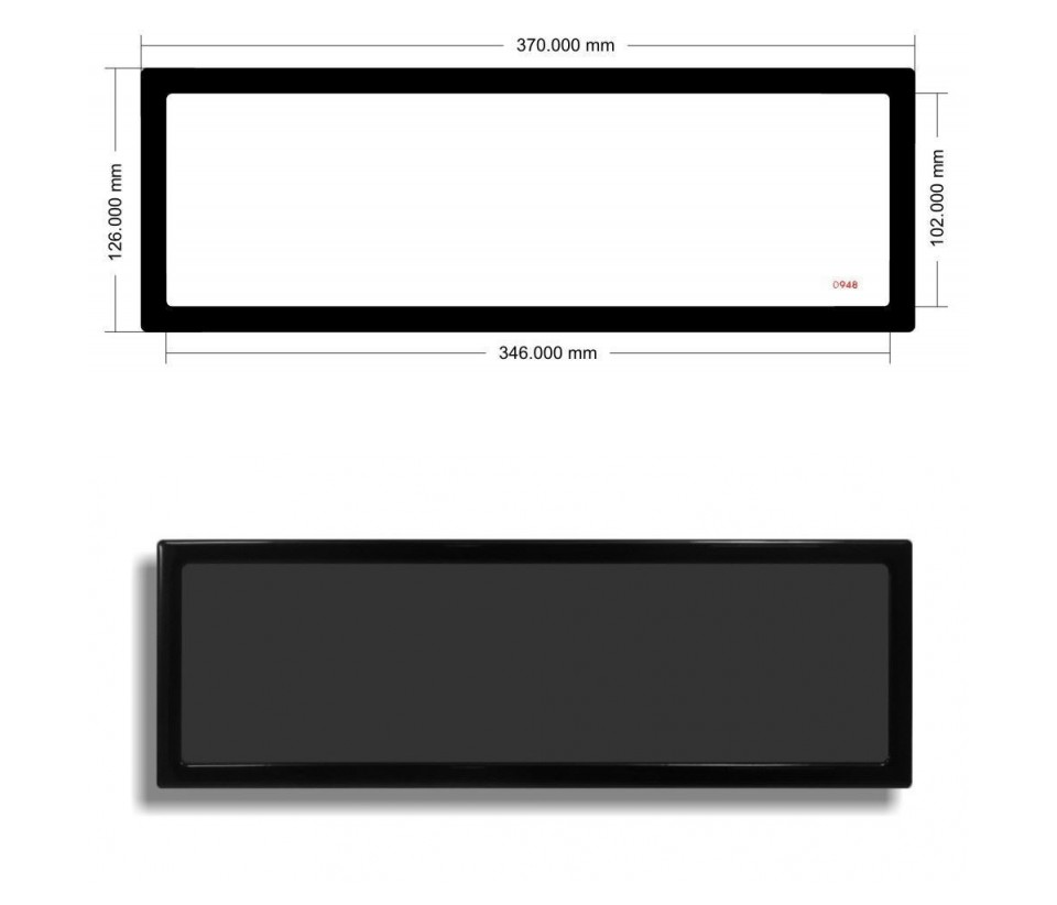 DEMCiflex Magnetic Dust Filter for EK Coolstream PE360 Radiator product