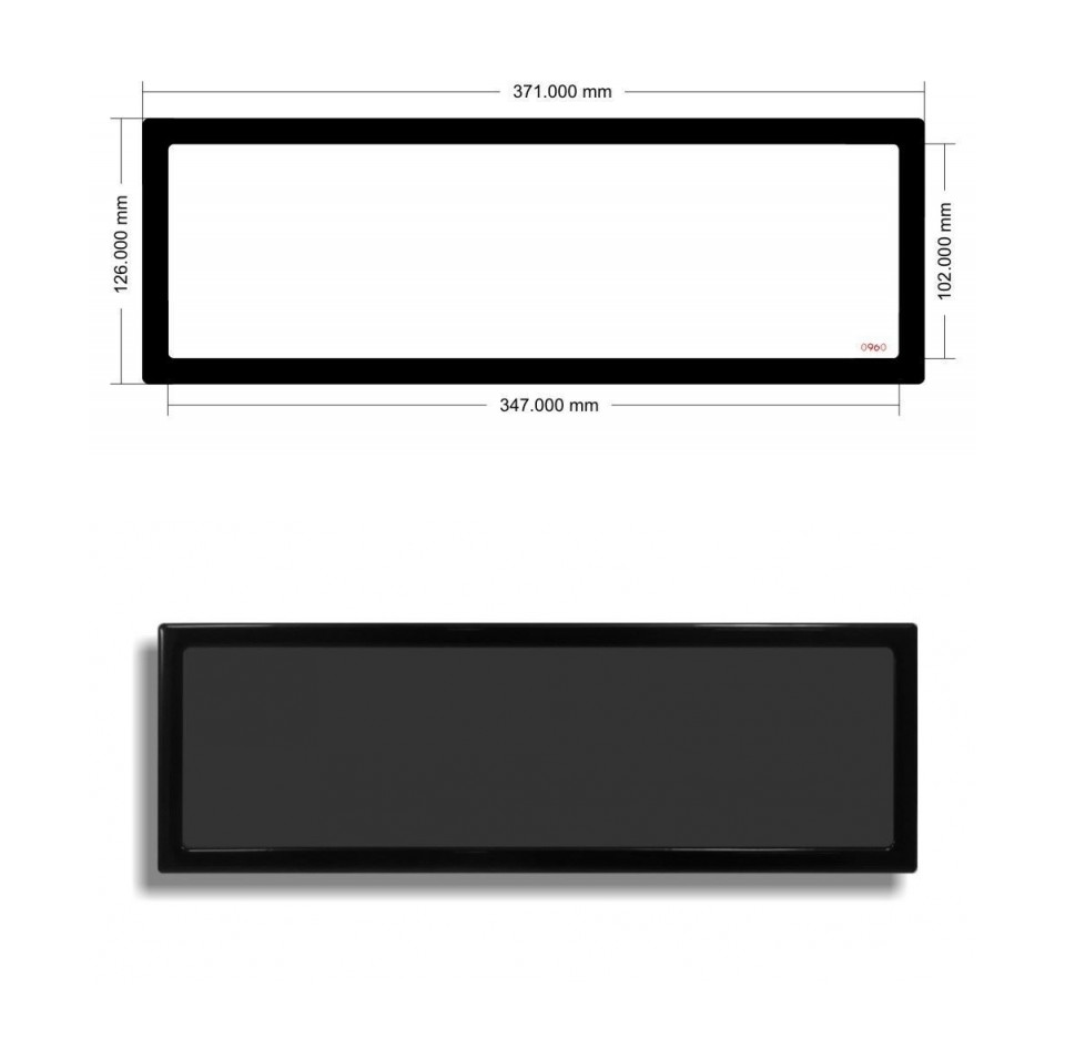DEMCiflex Magnetic Dust Filter for EK Coolstream XE360 Radiator product