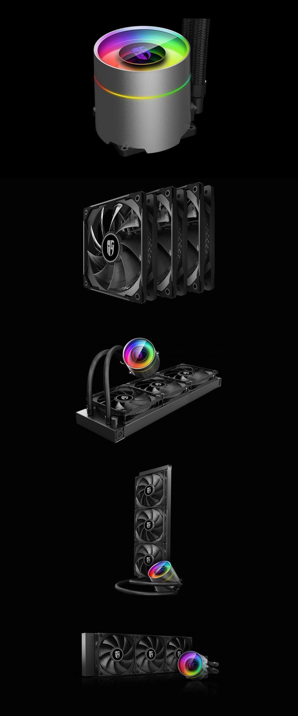 Deepcool Castle 360EX AIO Liquid CPU Cooler product